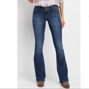 Maurices DenimFlex mid rise flare jeans